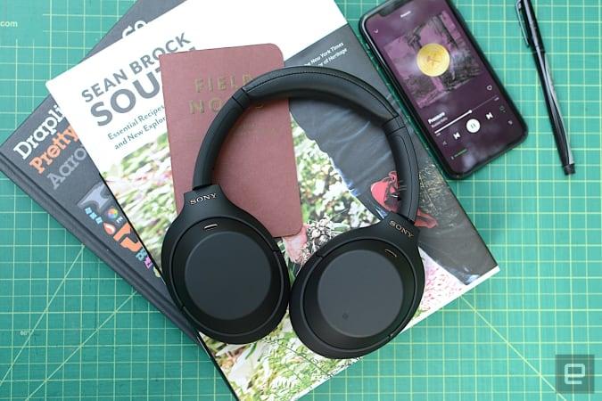 Sony WH-1000MX4 wireless ANC headphones