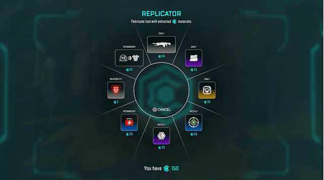 Apex Legends crafting system