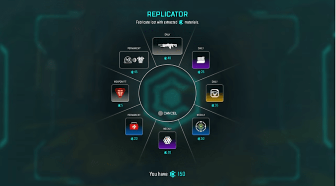 Apex Legends crafting system