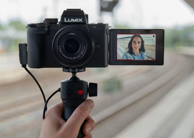 Panasonic G100 vlogging camera