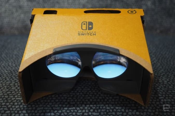 Labo VR headset for Switch