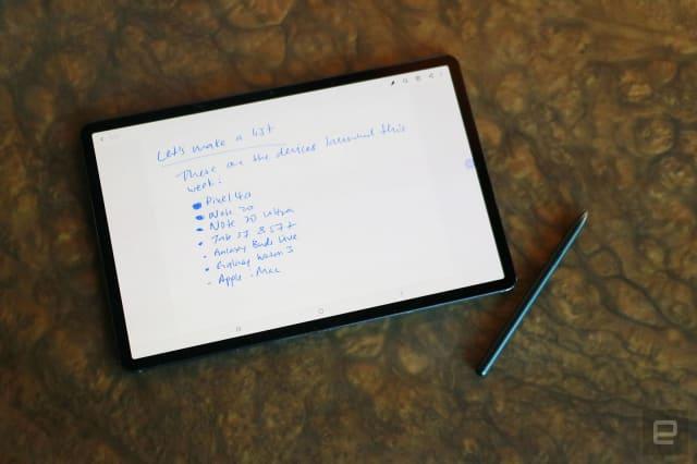 Samsung Galaxy Tab S7+ hands-on