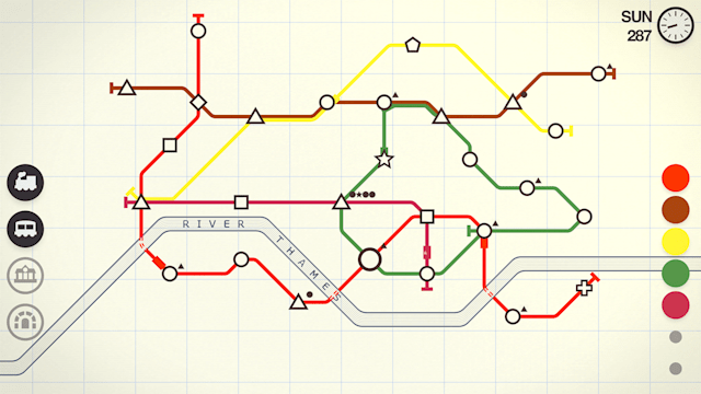 games of throne Mini Metro