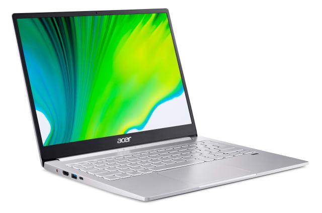 L'un des derniers ordinateurs portables Swift 3 d'Acer (modèle SF313-53)
