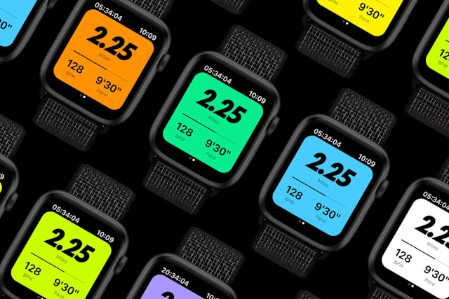 Nike Run Club sur Apple Watch pour watchOS 7