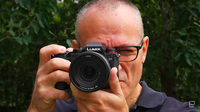 Panasonic S5 mirrorless camera