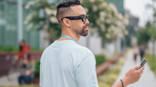 Facebook says that researchers who wear the Project Aria glasses will be easily identifiable and undergo special training.