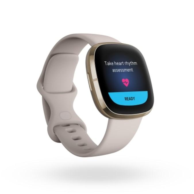 Fitbit Sense smartwatch ECG app