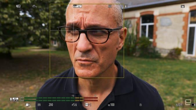 Panasonic S5 mirrorless camera improved autofocus eye tracking