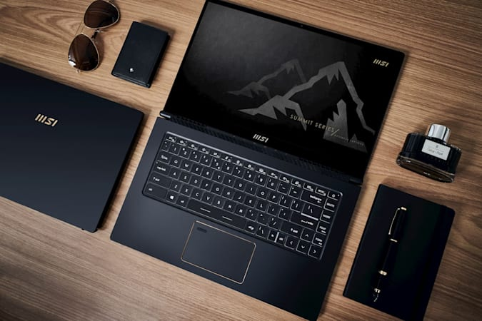 MSI Summit laptops
