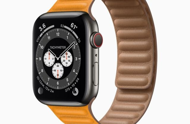 iPhone: Apple Watch Series 6
