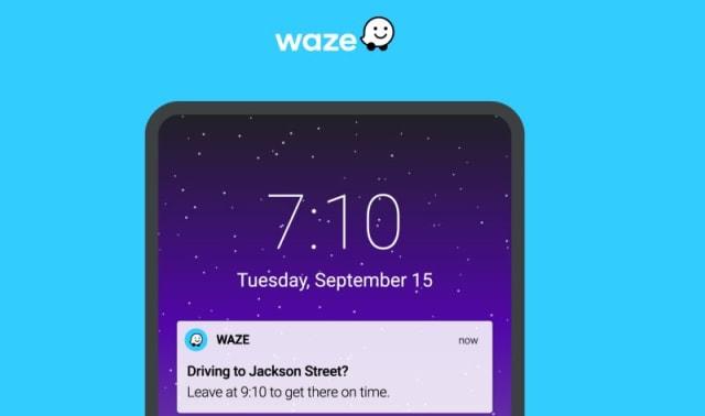 Traffic Notifications for Waze
