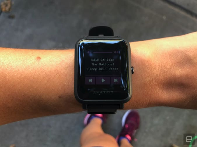 Engadget reviews the Amazfit Bip S GPS running watch.