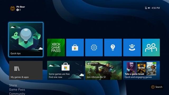Prise en main de la Xbox One