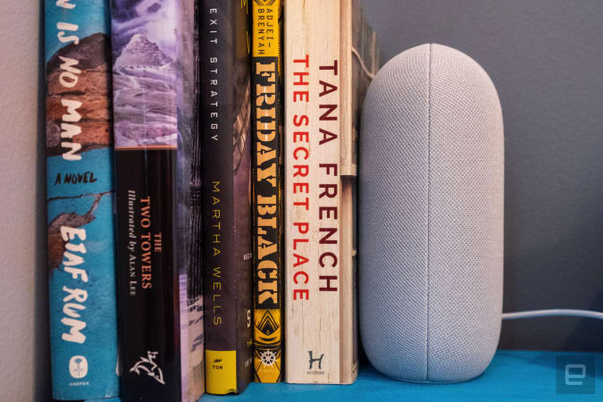 Nest audio smart speaker