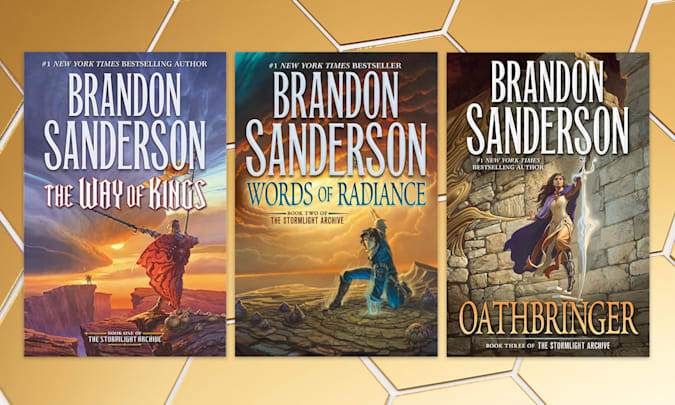 Holiday Gift Guide: The Stormlight Archive (Books 1-3)