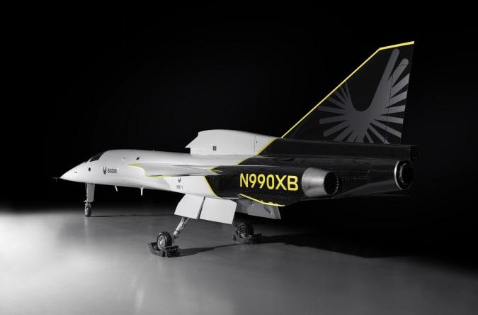 Boom XB-1 Supersonic demonstrator plane