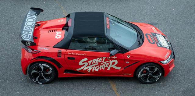 Teenage Engineering Street Fighter Honda
