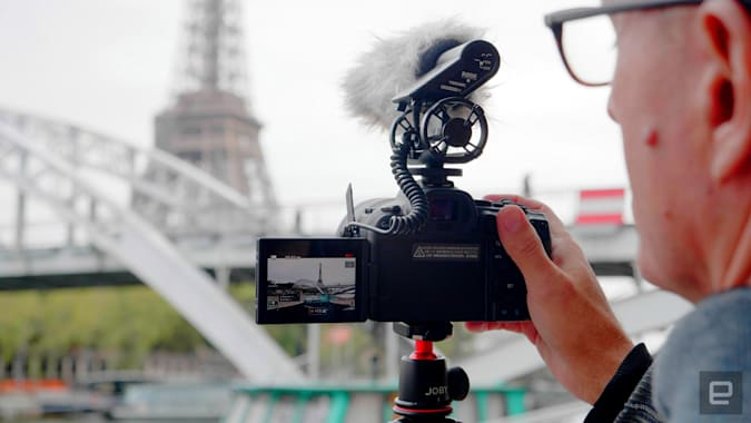 Canon R6 full-frame mirrorless camera