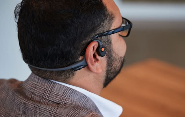 AfterShokz OpenComm bone conduction headset