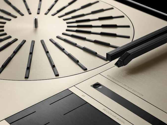 Bang & Olufsen's Beogram 4000c Recreated Limited Edition