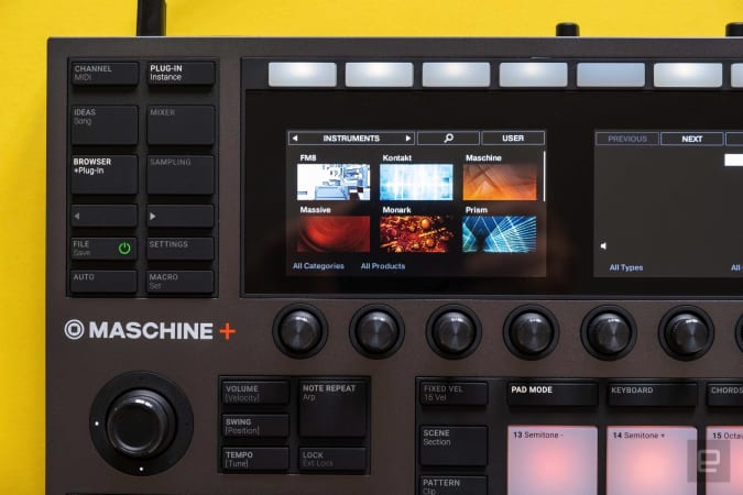 Maschine+ review.