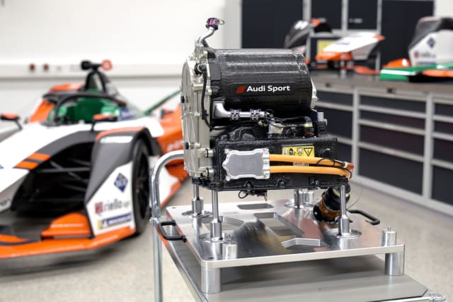 Audio E-Tron FE07 Formula E race car