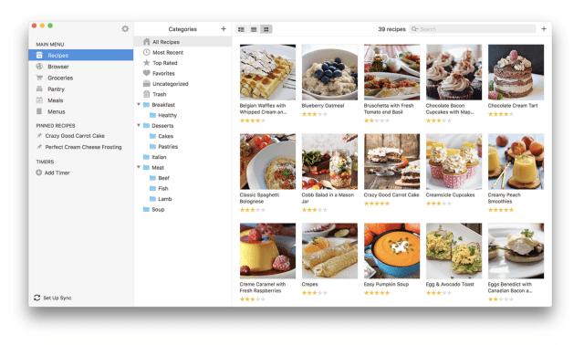 Paprika recipe app Mac