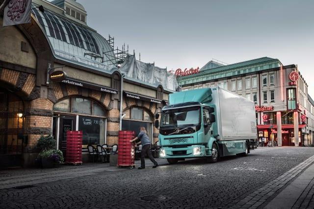 Volvo electric heavy-duty trucks