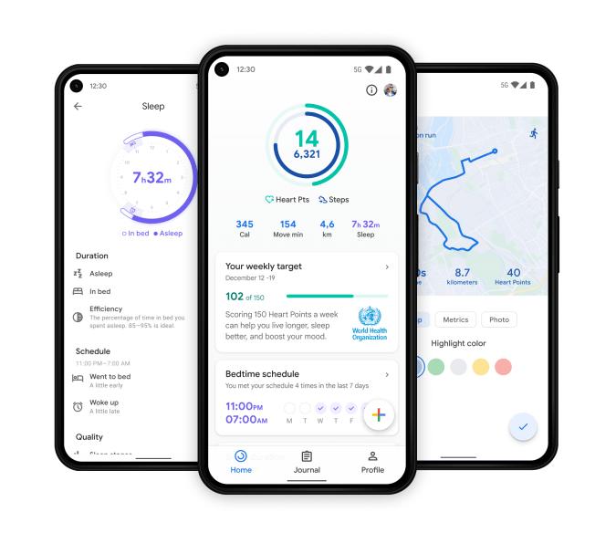 Google Fit update