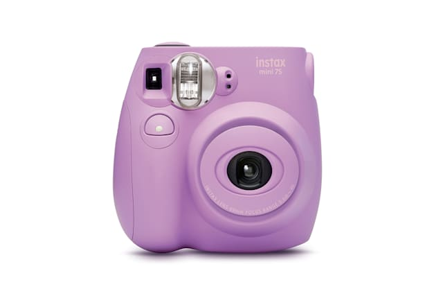Fujifilm Instax Mini 7s Lavender Bundle.