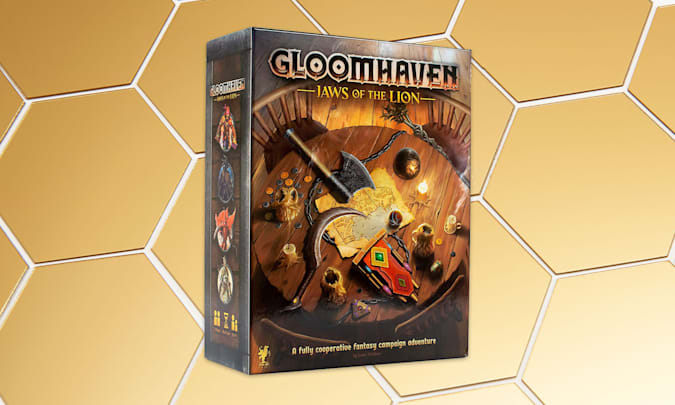 Holiday Gift Guide: Cephalofair Games Gloomhaven: Jaws of the Lion
