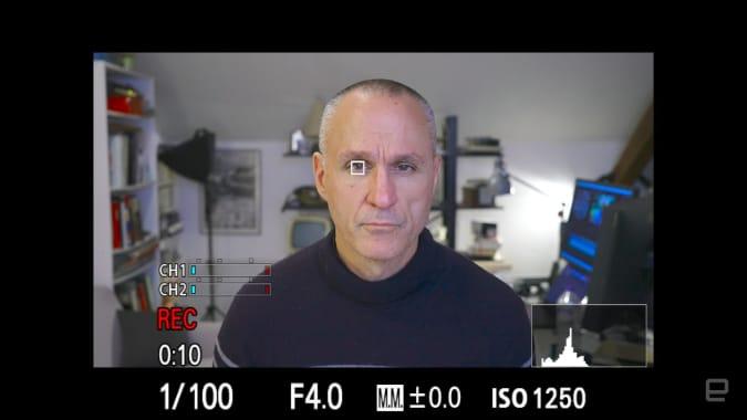 Sony A7S III 4K video autofocus