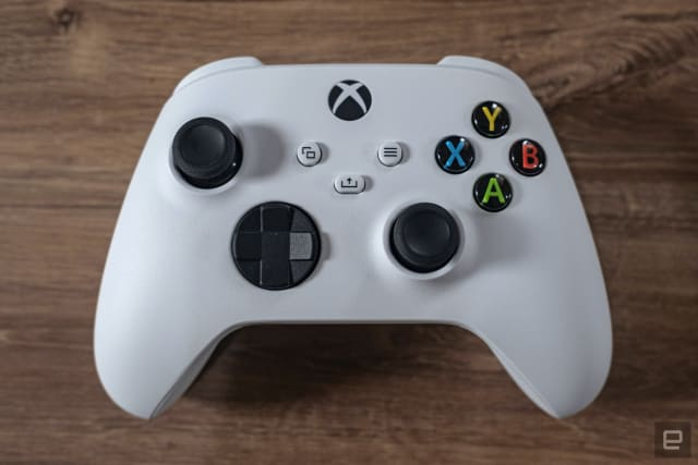 Microsoft Series S gaming console.