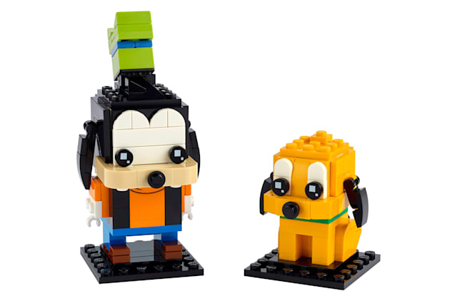 Goofy & Pluto BrickHeadz