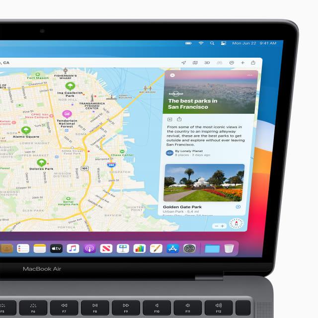 macOS Big Sur - Maps