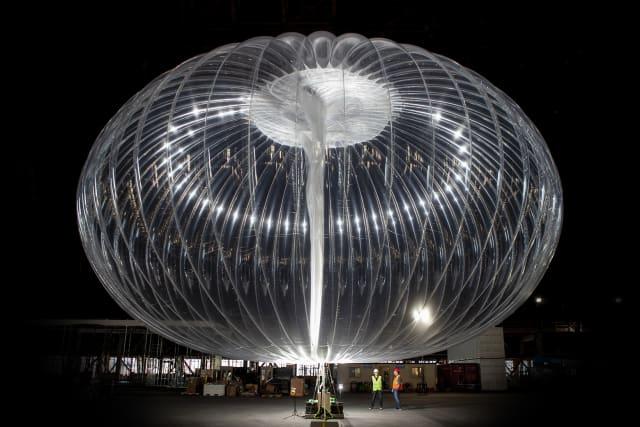 A Loon balloon