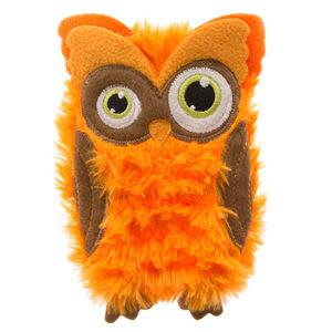 Halloween Villains Flattie Owl Dog Toy