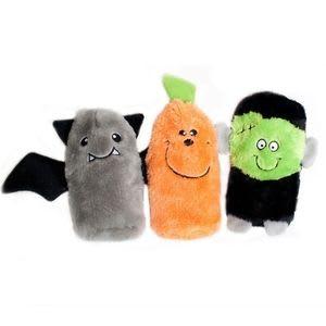 Squeakie Buddies Squeaky No Stuffing Plush Dog Toy