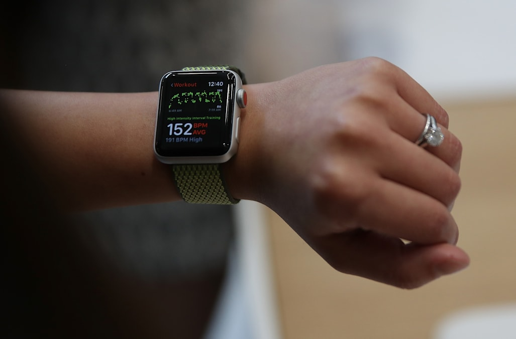 Apple Watch (Series 3) [Getty]
