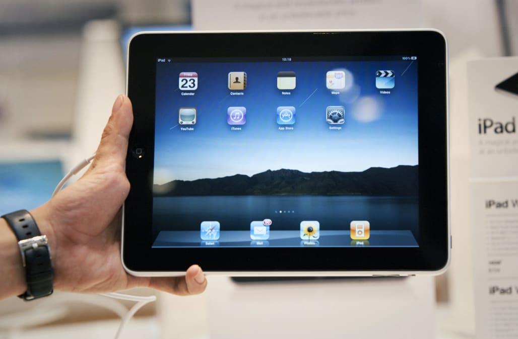 Apple iPad (First Generation) [Reuters]