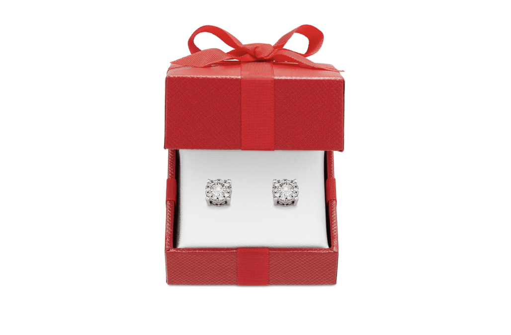 Macy's diamond stud earrings