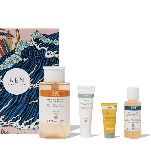 Ren Clean Skincare Heroes Face & Body gift set