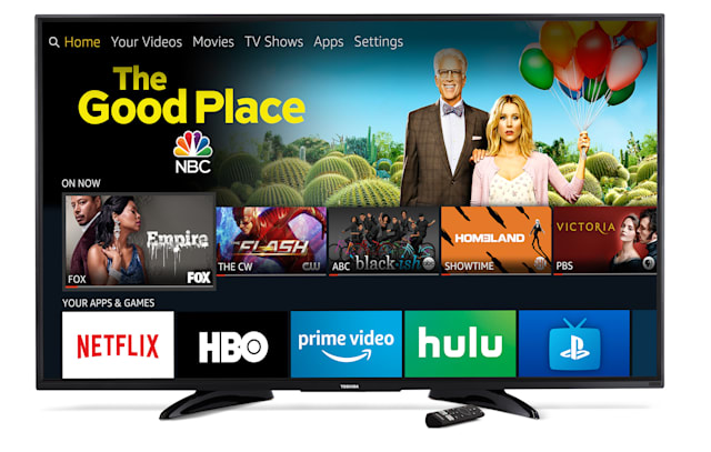 Toshiba 65-inch Fire TV with Dolby Vision