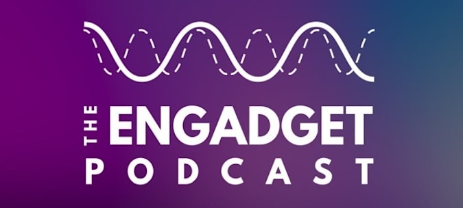 Engadget podcast logo