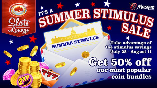 Summer Stimulus Sale