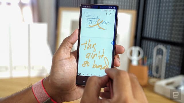 Samsung Notes uygulaması