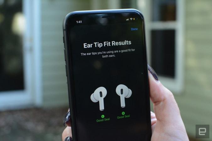Ear Tip Fit test