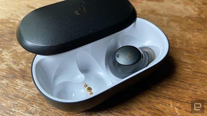 Engadget reviews Anker's Soundcore Spirit Dot 2 true wireless earbuds.