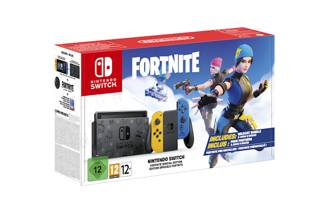 Nintendo Switch 'Fortnite' Sürümü